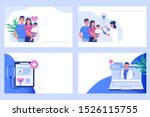 family health concept. can use... | Shutterstock . vector #1526115755