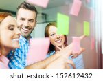 group of business people... | Shutterstock . vector #152612432