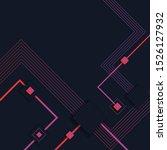digital wallpaper modern tech... | Shutterstock .eps vector #1526127932