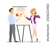 business team making... | Shutterstock . vector #1526222402