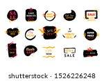 modern mega sale deal grunge... | Shutterstock .eps vector #1526226248