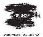 black vector grunge background  ...   Shutterstock .eps vector #1526381765