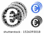 euro coins composition for euro ... | Shutterstock .eps vector #1526393018