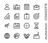 business icons vector   people  ... | Shutterstock .eps vector #1526432978