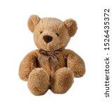 A Cute Teddy Bear Isolated On...