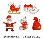 Kawaii Christmas Characters And ...