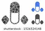male power pills mosaic for...   Shutterstock .eps vector #1526524148