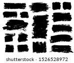 brush strokes. vector... | Shutterstock .eps vector #1526528972