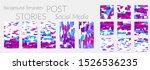 creative backgrounds for social ... | Shutterstock .eps vector #1526536235