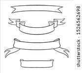 ribbons banners vector set. eps ...   Shutterstock .eps vector #1526562698