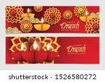 set of diwali festival design.... | Shutterstock .eps vector #1526580272