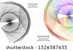 soft rainbow color. linear...   Shutterstock .eps vector #1526587655