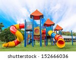 Modern Children Playground In...