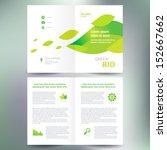 booklet catalog brochure folder ... | Shutterstock .eps vector #152667662