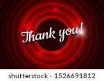 thank you handwrite title on... | Shutterstock .eps vector #1526691812