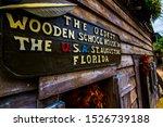 St. Augustine   Florida   Usa   ...
