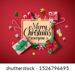 chirstmas greeting vector... | Shutterstock .eps vector #1526796695
