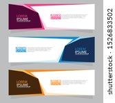 vector abstract design web... | Shutterstock .eps vector #1526833502