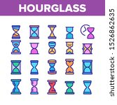 hourglass collection elements... | Shutterstock .eps vector #1526862635