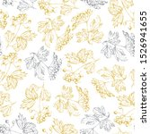 vector seamless pattern of... | Shutterstock .eps vector #1526941655