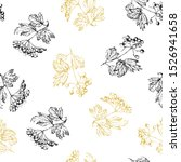 vector seamless pattern of... | Shutterstock .eps vector #1526941658