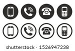 phone icon vector. call icon... | Shutterstock .eps vector #1526947238