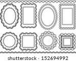 frames and borders | Shutterstock .eps vector #152694992
