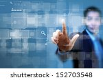 close up of businessman hand... | Shutterstock . vector #152703548