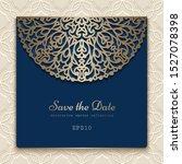 vintage ornamental frame with...   Shutterstock .eps vector #1527078398