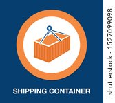 container logistic   shipping... | Shutterstock .eps vector #1527099098