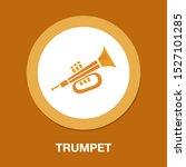 vector trumpet illustration  ... | Shutterstock .eps vector #1527101285