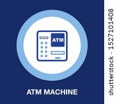 atm bank machine with credit... | Shutterstock .eps vector #1527101408