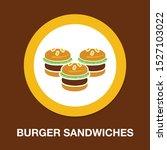 hamburger icon   vector fast... | Shutterstock .eps vector #1527103022