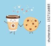 cute vector illustration of a...   Shutterstock .eps vector #1527116885