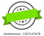 blank green stamp. blank green... | Shutterstock .eps vector #1527137678