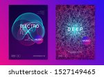 electronic event. dynamic fluid ... | Shutterstock .eps vector #1527149465