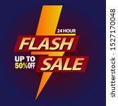 flash sale design for... | Shutterstock .eps vector #1527170048