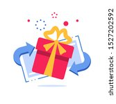 prize giveaway  loyalty card ... | Shutterstock .eps vector #1527202592
