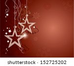 christmas background. vector... | Shutterstock .eps vector #152725202