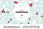 christmas and new year... | Shutterstock .eps vector #1527257018