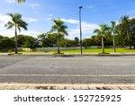 side view on asphalt street | Shutterstock . vector #152725925