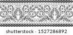 black ornament vintage seamless ...   Shutterstock .eps vector #1527286892