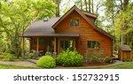 Oregon Forest Modern Log Cabin