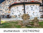 Two Ancient Stone Crosses In...