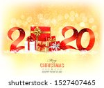 christmas holiday background...   Shutterstock .eps vector #1527407465