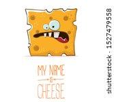 vector funny cartoon cute... | Shutterstock .eps vector #1527479558