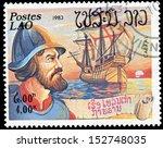 postes lao   circa 1983  a... | Shutterstock . vector #152748035