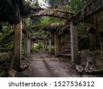 Ruins Of Old Abandoned Mine An...
