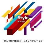 abstract modern composition.... | Shutterstock .eps vector #1527547418