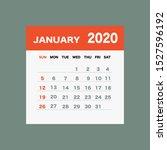 January 2020 Calendar Leaf  ...